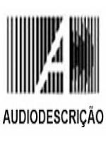 Marca do Blog da Audiodescrição. É composto por uma série de linhas na cor pretas sobreposta por uma letra A maiúscula na cor branca.