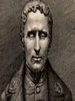 Imagem do rosto de Louis Braile.