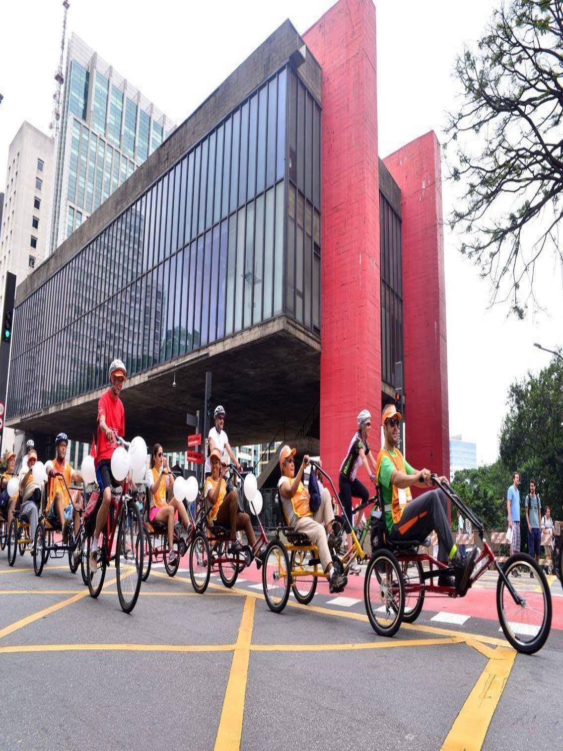 Bicicletada inclusiva.